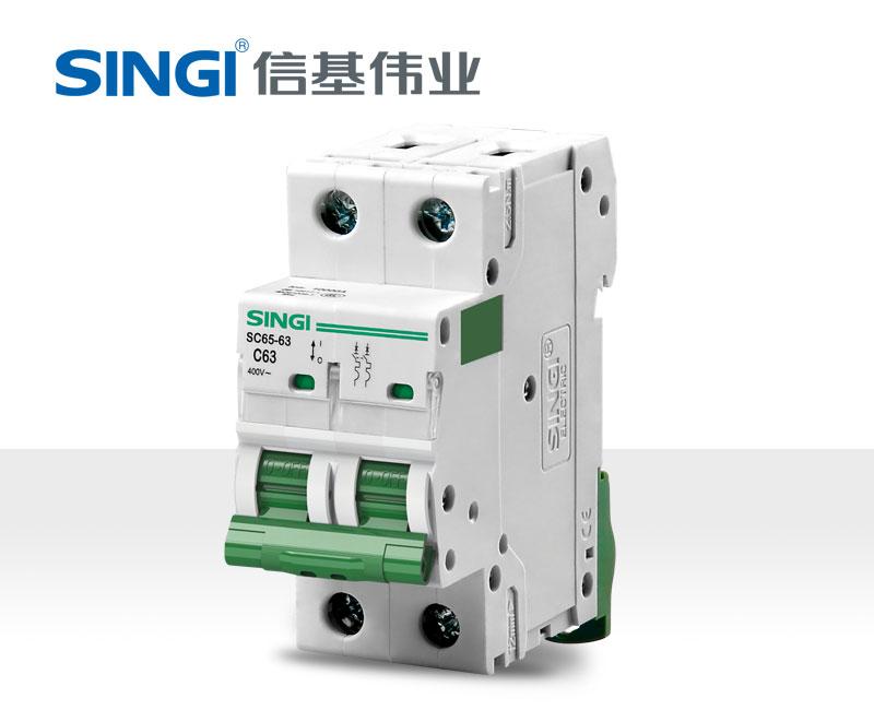 信基伟业 SC65-63小型断路器